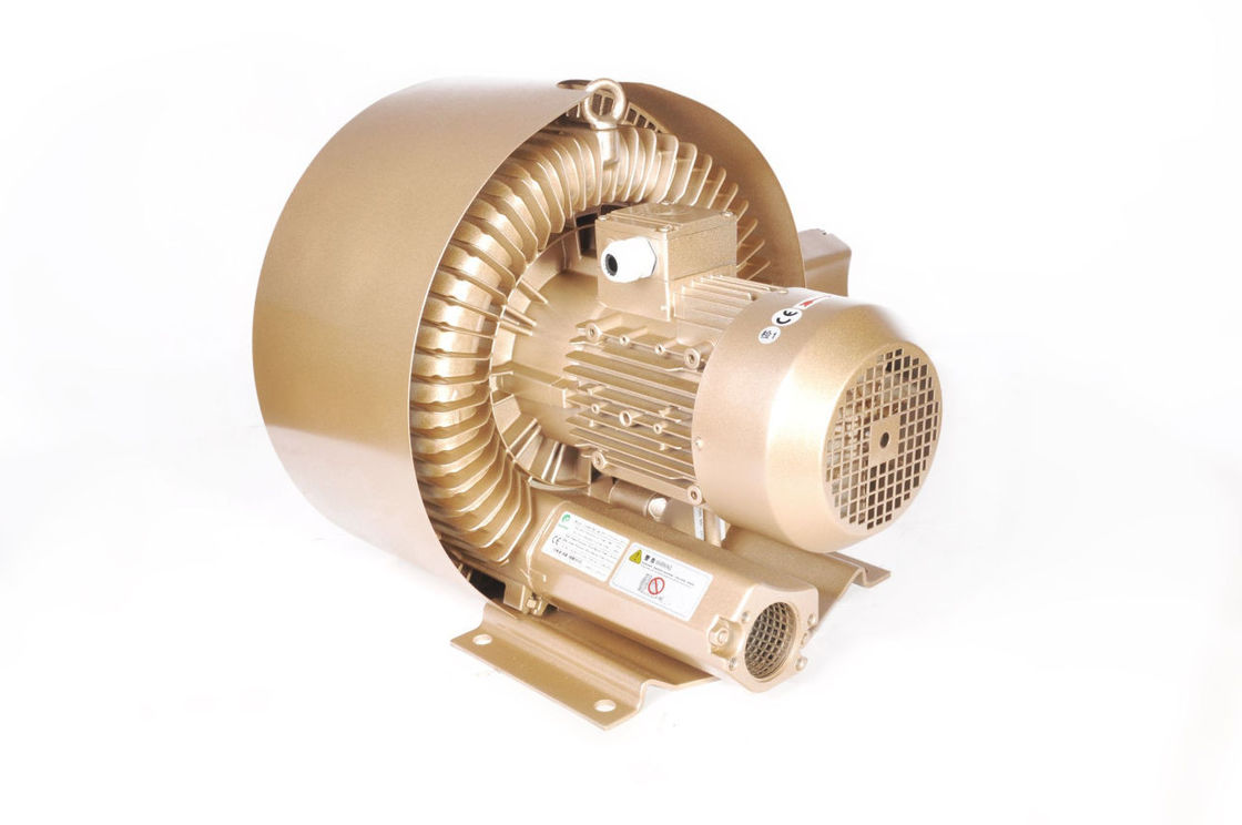 Regenerative High Pressure Air Blower , 3 Phase Side Channel Vacuum Pump