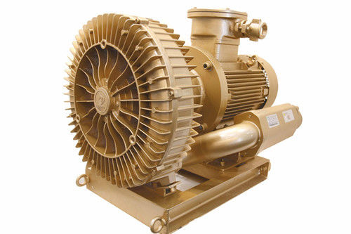 Explosion Proof Vacuum Pump Blower 11kw , Oil Free Side Channel Air Blower